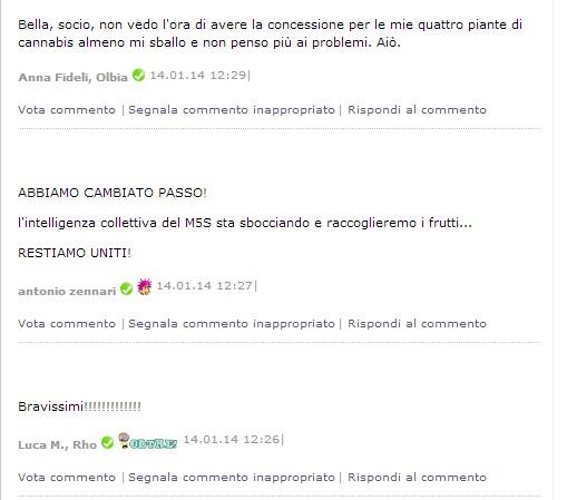 Beppe Grillo-Cannabis-MoVimento 5 Stelle