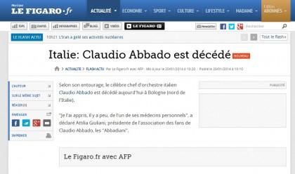 CLAUDIO ABBADO MORTO 1