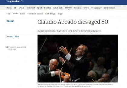 CLAUDIO ABBADO MORTO 5