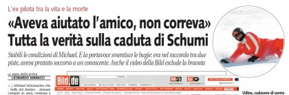 Michael Schumacher Libero incidente 5