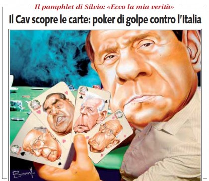Silvio Berlusconi pamphlet