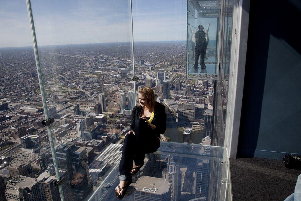 Gli otto luoghi piu spaventosi del mondo che ti faranno for How many floors are in the sears tower