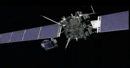 Sonda Rosetta risvegliata 2