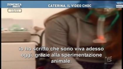 Sperimentazione Animale Domenica Live Caterina Simonsen