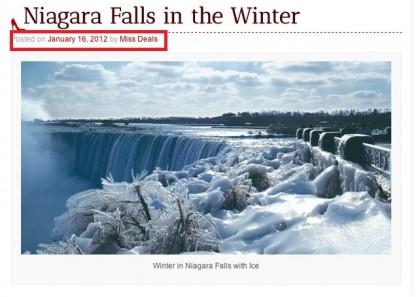 cascate niagara ghiacciate foto 4
