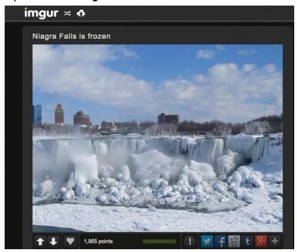 cascate niagara ghiacciate foto 5