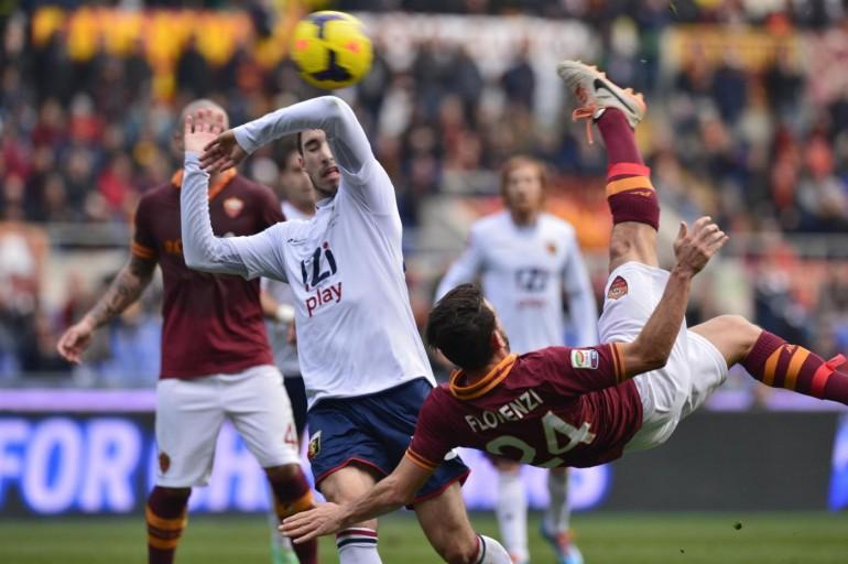 Roma vs Genoa - Serie A Tim 2013/2014