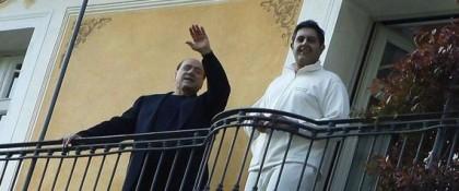 Giovanni e Toti e Silvio Berlusconi