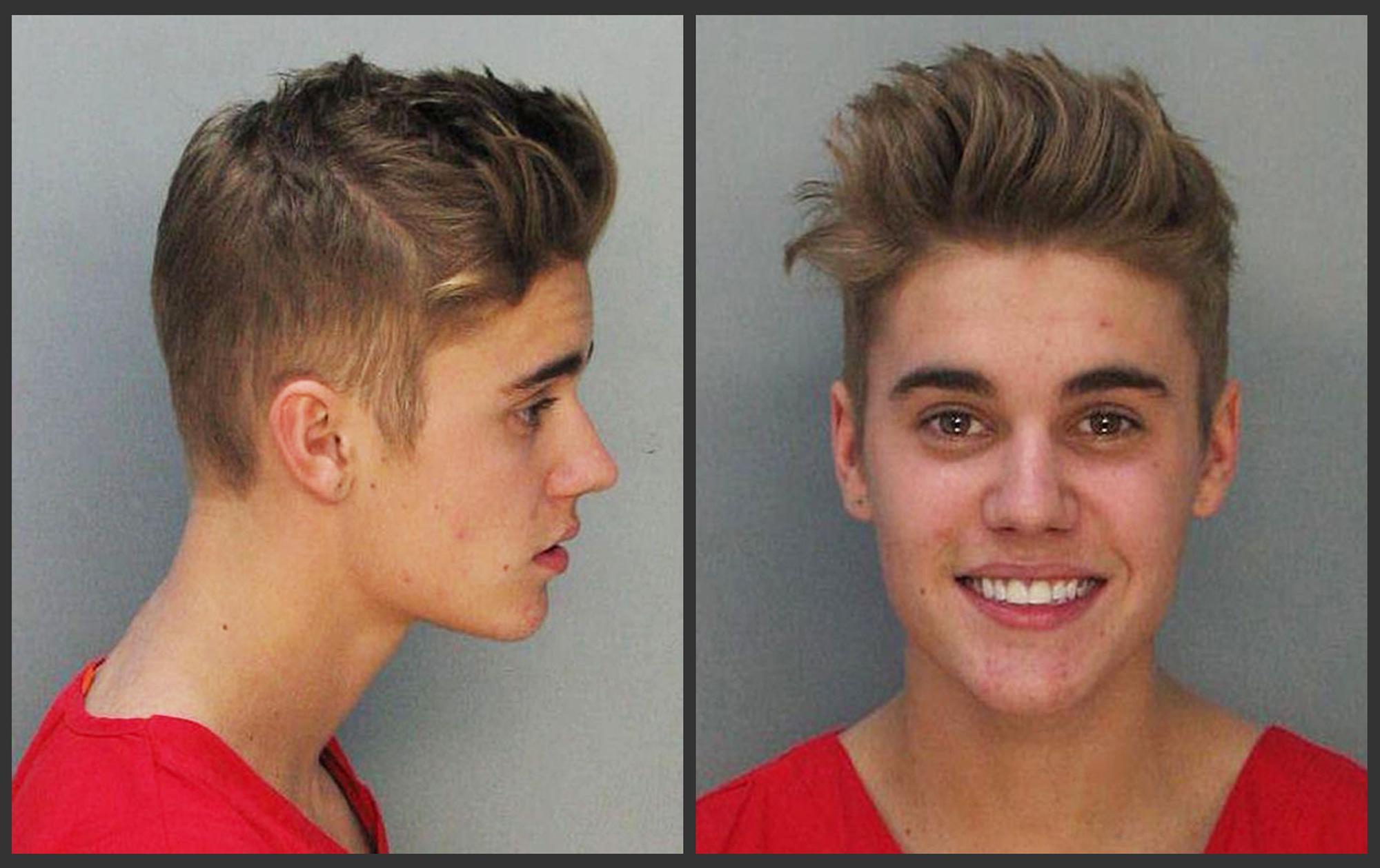 Arrestato Justin Bieber : corsa illegale e guida in stato di ebbrezza