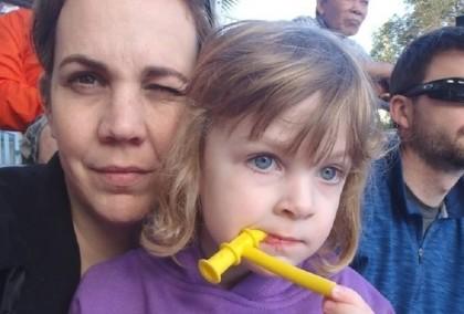 Kate con la mamma Shanell