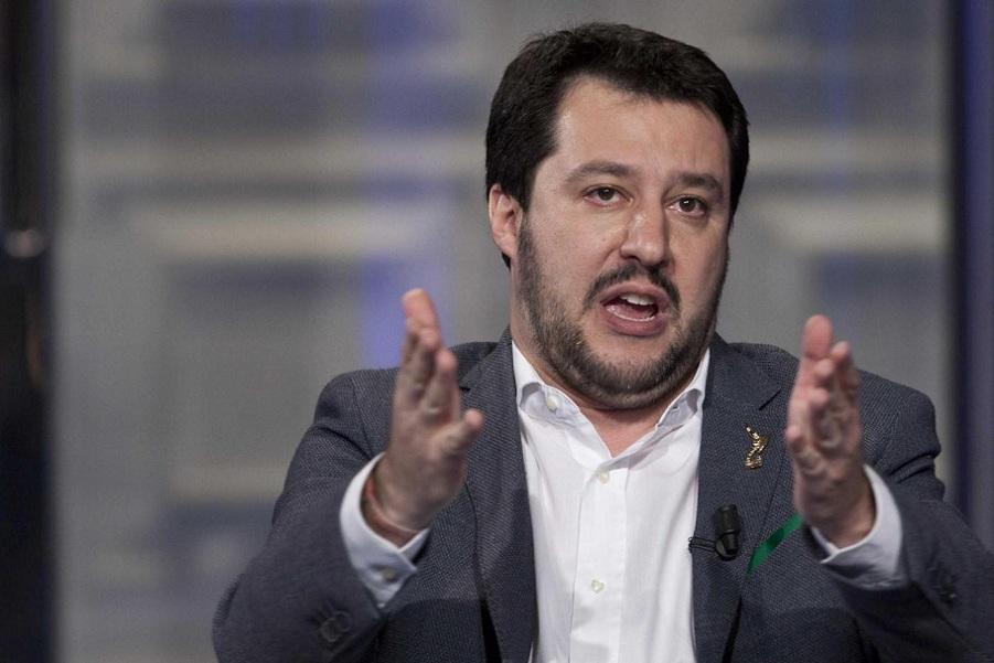 """Salvini in visita al Cara di Mineo: """"Il centro va chiuso""""$"""