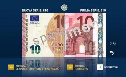 Bce/ * Ecco la nuova banconota da 10 euro, circolerà dal 23 settembre
