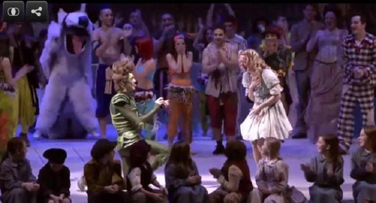 Matrimonio Tema Peter Pan : La proposta di matrimonio peter pan a wendy che