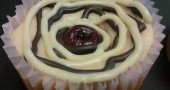 5) Cheesecake con una particolare marmellata gustosa