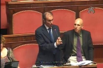 vincenzo maurizio santangelo capogruppo senato 5 stelle