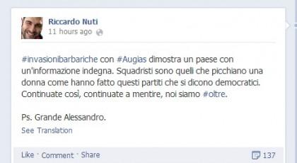 Alessandro Di Battista Corrado Augias Invasioni Barbariche 4