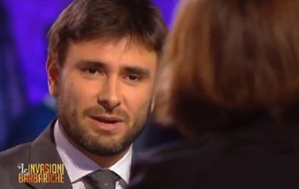 Alessandro Di Battista Corrado Augias Invasioni Barbariche