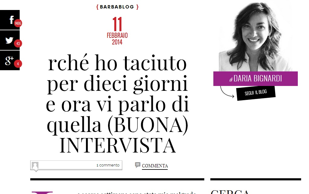 Daria Bignardi Rocco Casalino