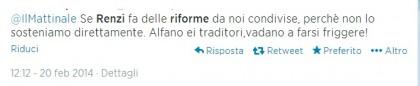 Governo Renzi italiani reazioni social 11