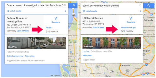HACKERARE FBI SECRET SERVICE GOOGLE MAPS 1
