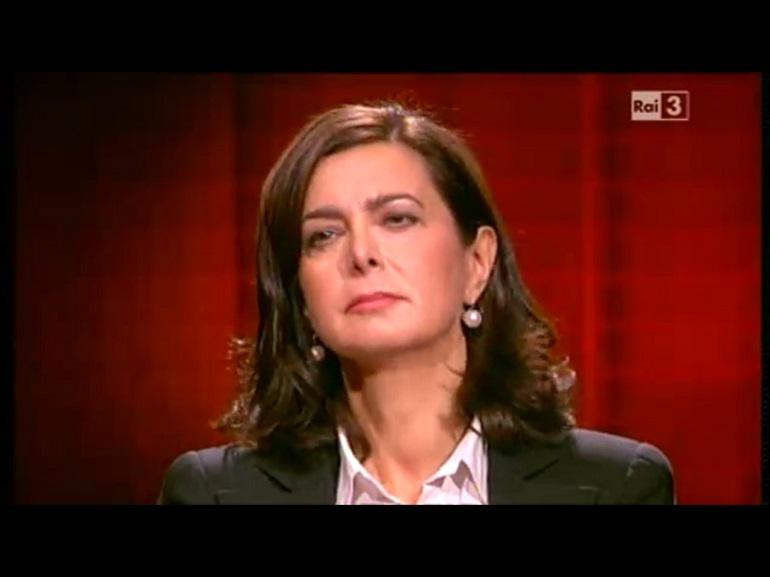 LAURA BOLDRINI MOVIMENTO 5 STELLE STUPRATORI