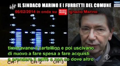 Le Iene Ignazio Marino insulti 8