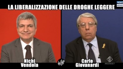 Le Iene Nichi Vendola Carlo Giovanardi 2