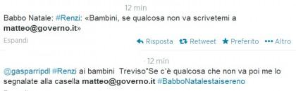 Matteo Renzi casella mail 2