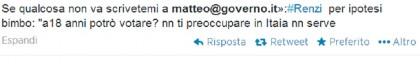 Matteo Renzi casella mail 3