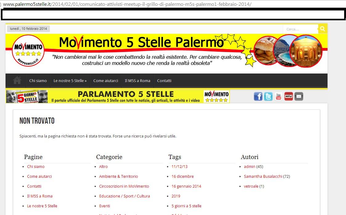 MoVimento 5 Stelle Palermo 26 b