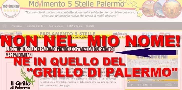 MoVimento 5 Stelle Riccardo Nuti Palermo