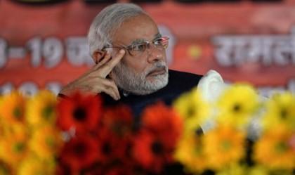 Narendra Modi, candidato premier per il BJP (Getty)