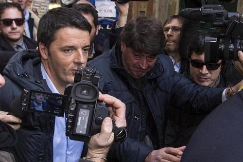 PD - Direzione Nazionale, l'arrivo di Renzi