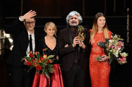 Sanremo 2014 Beppe Grillo