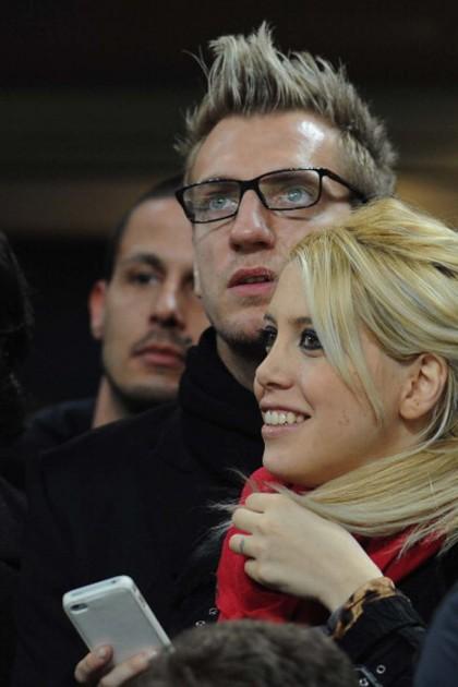 Wanda Nara e l'ex marito Maxi Lopez (Getty)