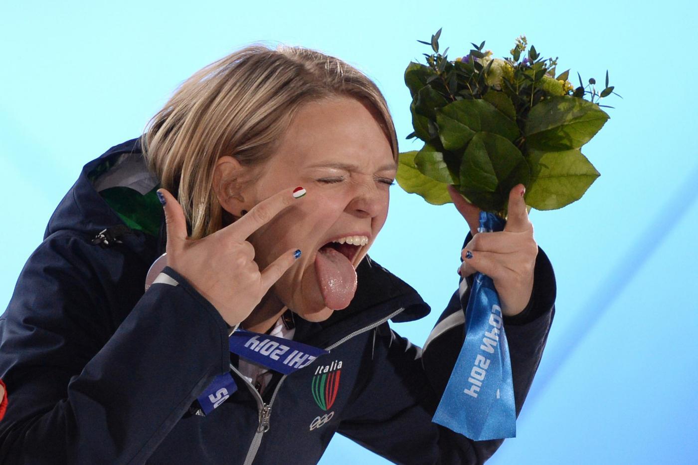 Arianna Fontana Sochi 2014 bronzo short track 1500 metri