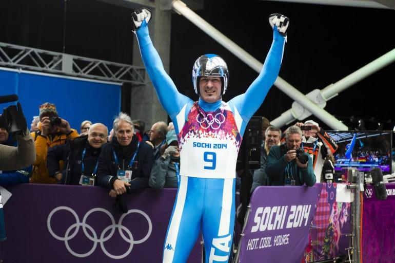 Sochi 2014, slittino: Zoeggeler vince il bronzo ed entra nella storia