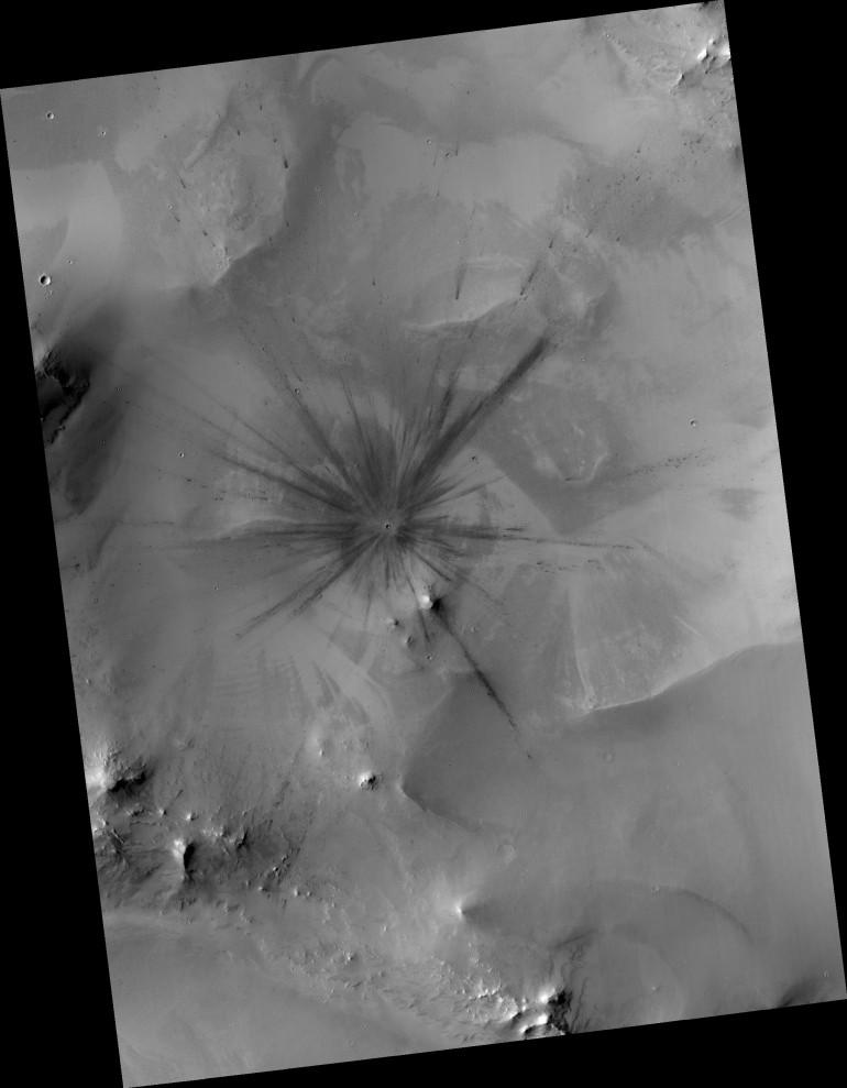 cratere marte 1