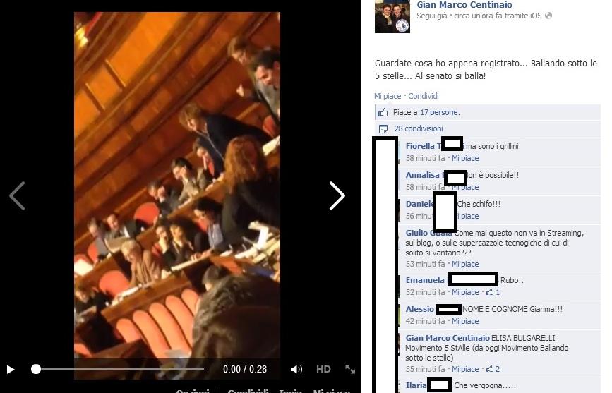 elisa bulgarelli balla in senato