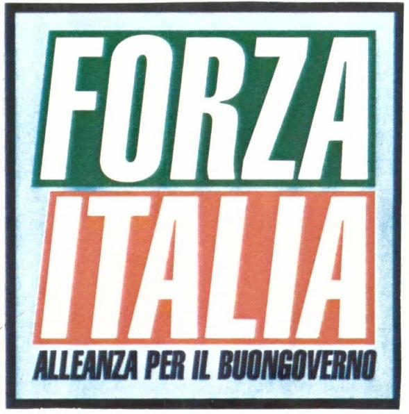 forza italia marchio primo simbolo 4