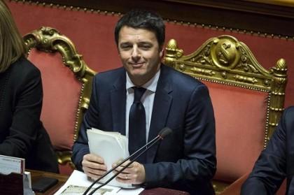 governo Renzi fiducia Senato