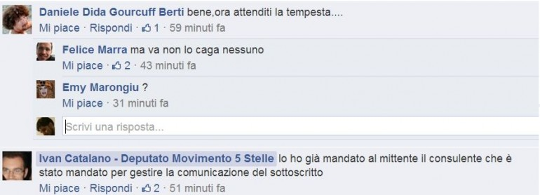 ivan catalano movimento 5 stelle 2