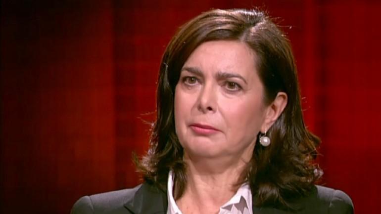 Laura Boldrini contro Marco Travaglio