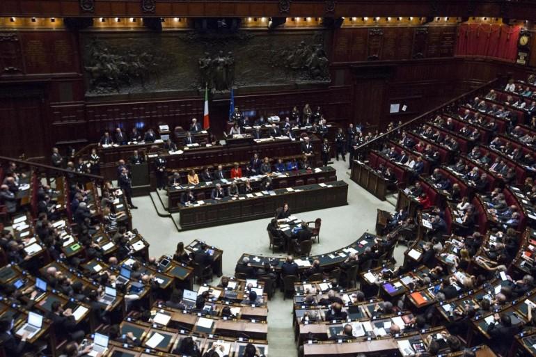 Camera dei Deputati - Fiducia governo Renzi