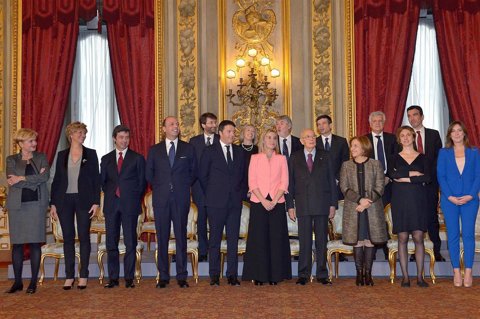 Il primo giorno di scuola del governo renzi giornalettismo for Nuovo parlamento italiano