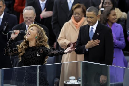 Beyonce; Barack Obama