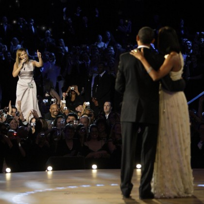 Beyonce, Barack Obama, Michelle Obama