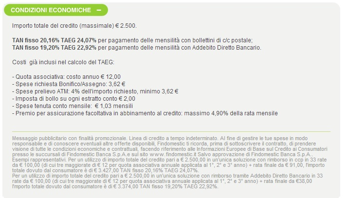 Prestiti per casalinghe findomestic  My-Rome...