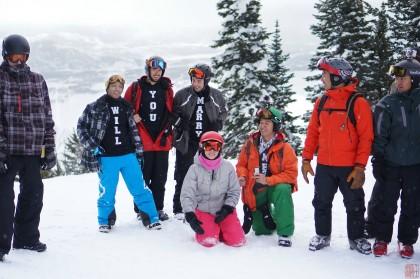 proposta di matrimonio snowboard 1