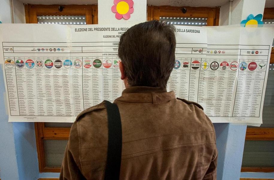 Elezioni regionali in Sardegna, i candidati al voto